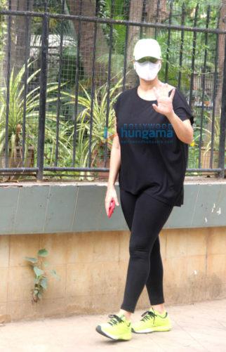 Photos: Neha Dhupia spotted in Bandra