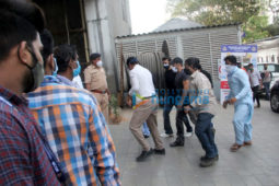 Photos: Salman Khan snapped at the vaccination centre in Dadar