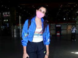 Photos: Sonnalli Seygall and Sahil Salathia snapped at the airport