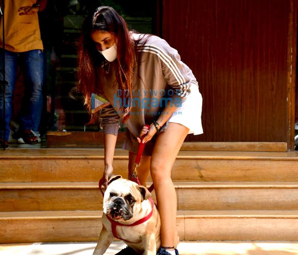 Photos Sonnalli Seygall snapped at a clinic with her pet in Khar (2)