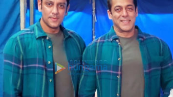 On the sets of the movie Radhe – Your Most Wanted Bhai