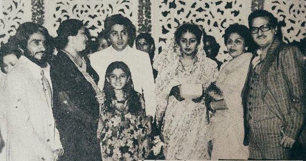 Raveena Tandon shares throwback picture from Rishi Kapoor and Neetu Kapoor's wedding