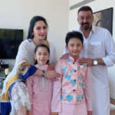 Sanjay Dutt and Maanayata Dutt celebrated Eid with their twins in Dubai