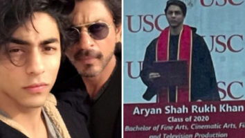 Shah Rukh Khan's son Aryan Khan's graduation ceremony picture goes viral on the internet