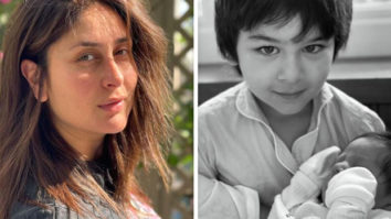 Kareena Kapoor Khan shares picture of Taimur holding his baby brother, giving fans a glimpse of the baby