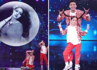Contestant Florina and super guru Tushar Shetty pay special tribute to legendary actress of Bollywood 'Sridevi' on Super Dancer – Chapter 4