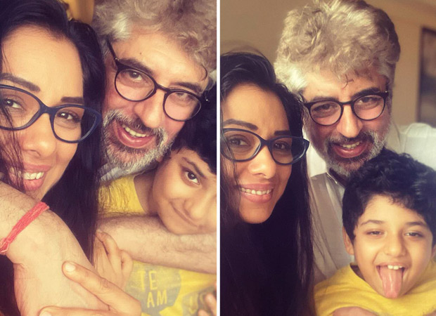 Anupamaa star Rupali Ganguly is back home to her boys almost after two months (2)