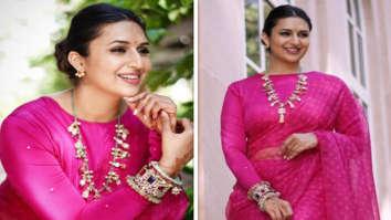 Khatron Ke Khiladi 11: Divyanka Tripathi looks breathtaking in pink organza saree