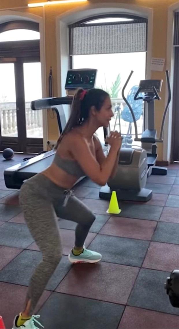 Malaika Arora celebrates International Yoga Day by showing her fitness routine