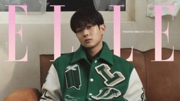 Parasite actor Choi Woo Shik looks dapper in Louis Vuitton on Elle Korea cover celebrating 10 years in the industry