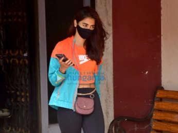 Photos: Janhvi Kapoor and Pooja Hegde spotted at pilates studio