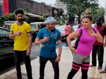 Photos: Rakhi Sawant snapped at the gym