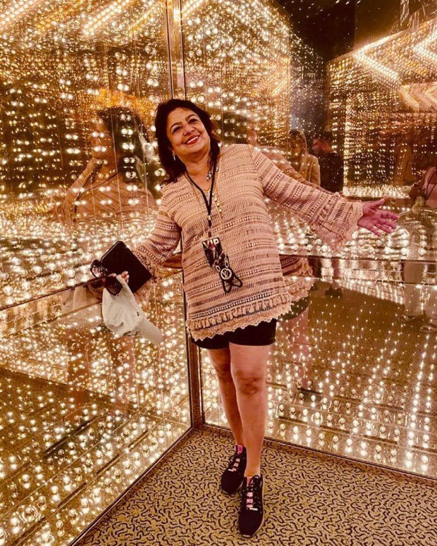 Priyanka Chopra looks gorgeous in brown printed dress as she visits Rock and Roll Hall of Fame with Madhu Chopra