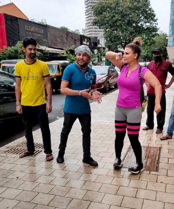 Rakhi Sawant snapped at the gym (5)