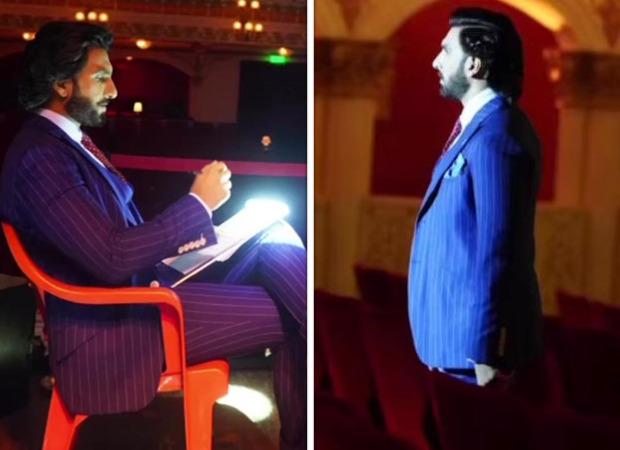 Ranveer Singh looks dapper in blue suit as he resumes shooting