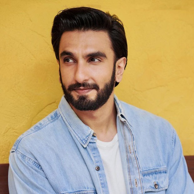 Ranveer Singh looks sharp in white t-shirt and washed denim jacket