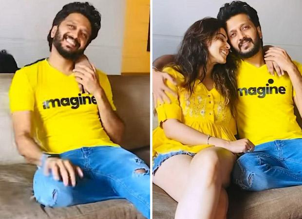 Riteish Deshmukh and Genelia D'souza romance video has a hilarious twist to it, watch video