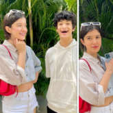 Shanaya Kapoor shares happy pictures with brother Jahaan; carries poppy pink Prada bag worth Rs. 2. 12 lakh