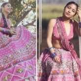 Shweta Tripathi emanates unwavering glam in embellished pink lehenga