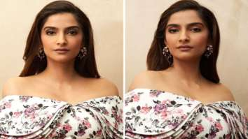 Sonam Kapoor dons Emilia Wickstead crop top and flared skirt worth Rs. 1.3 lakh