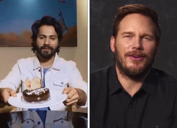 Varun Dhawan celebrates Chris Pratt's birthday during virtual interaction; The Tomorrow War star says 'Shukriya'