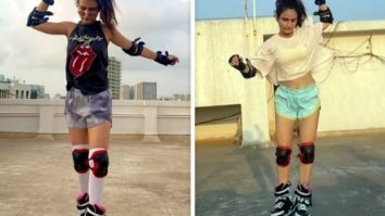 Fatima Sana Shaikh falls and trips but ultimately gets the trick right, see video!