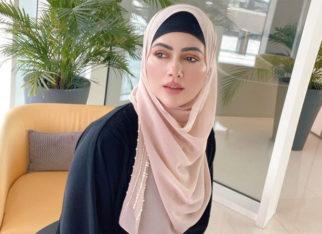 Sana Khan gets mocked for hiding behind a hijab; she responds