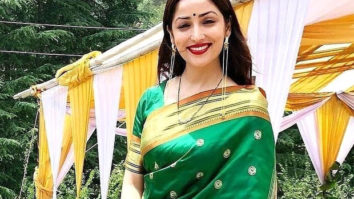 Yami Gautam goes traditional in green saree in the first picture of the couple post-wedding