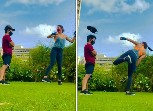 Kiara Advani nailing a spinning high-kick is all the motivation you need to workout