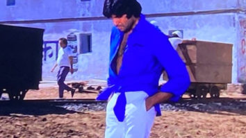 Amitabh Bachchan shares the story behind his knotted shirt in Deewar