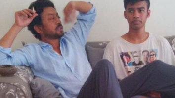 Babil Khan responds to a fan who asked if Irrfan Khan was holding a joint in a throwback picture