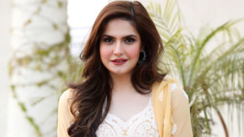 Zareen Khan uploads a video of her taking the Covid-19 jab, thanks fans for being a 10 million strong Instagram family