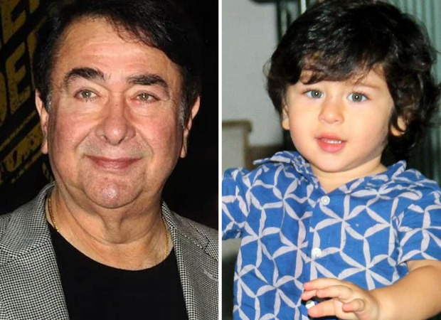 Randhir Kapoor receives a surprise gift from grandson Taimur Ali Khan on the sets of Indian Idol 12