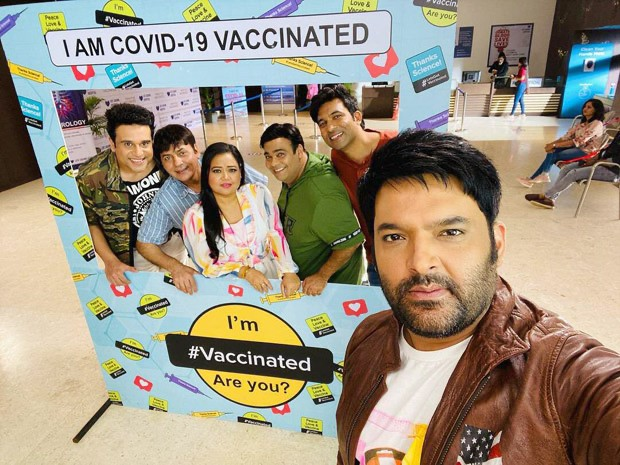 Ahead of The Kapil Sharma Show shoot, the team gets vaccinated