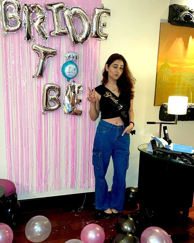 Ahead of her wedding with Rahul Vaidya Disha Parmar shares photos from her intimate bachelorette with friends