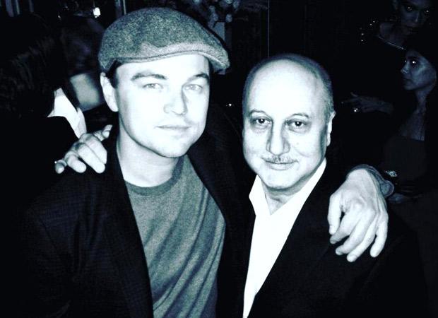 Anupam Kher recalls meeting 'kind and affectionate' Leonardo DiCaprio