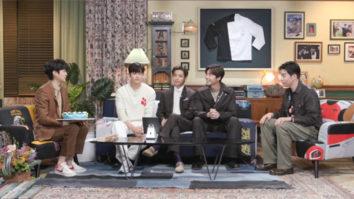 BTS' V joins Park Seo Joon, Park Hyung Sik, Peakboy for Choi Woo Shik's 10th anniversary fanmeeting
