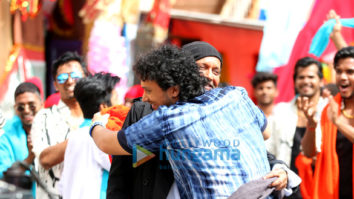 On The Sets Of The Movie Bad Boy