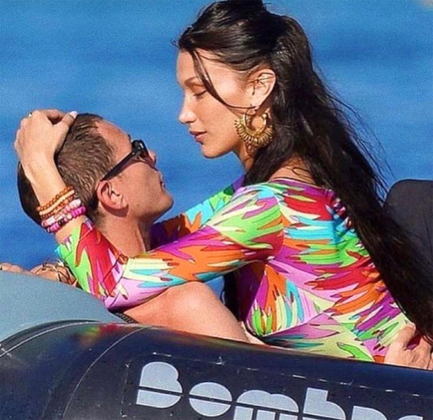 Bella Hadid in a black bikini amid Cannes 2021 appearance to spend time with beau Marc Kalman at the beach