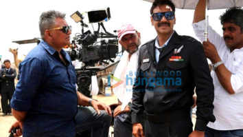 On The Sets From The Movie Bhuj - The Pride Of India