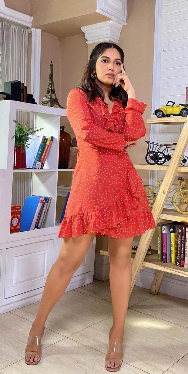 Bhumi Pednekar makes a case for mini summery dresses