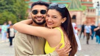 Bigg Boss 7 winner Gauahar Khan flies down to Mumbai to celebrate her first Eid with husband Zaid Darbar (1)
