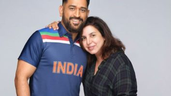 Farah Khan directs Mahendra Singh Dhoni for an ad, says he is 'so down to earth'