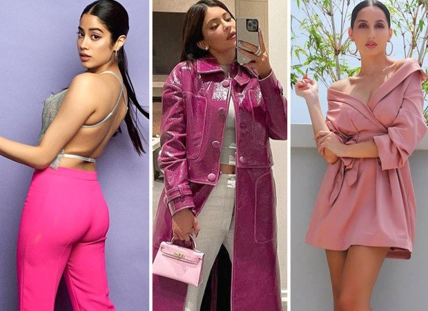 Form Kylie Jenner, Janhvi Kapoor to Nora Fatehi, celebs infuse dominant colour pink in 2021