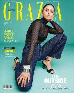 Rakul Preet Singh On The Cover of Grazia