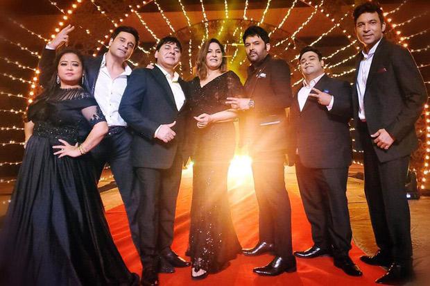 Kapil Sharma confirms the return of The Kapil Sharma Show in a photo with Krushna Abhishek, Bharti Singh, Chandan Prabhakar and Kiku Sharda