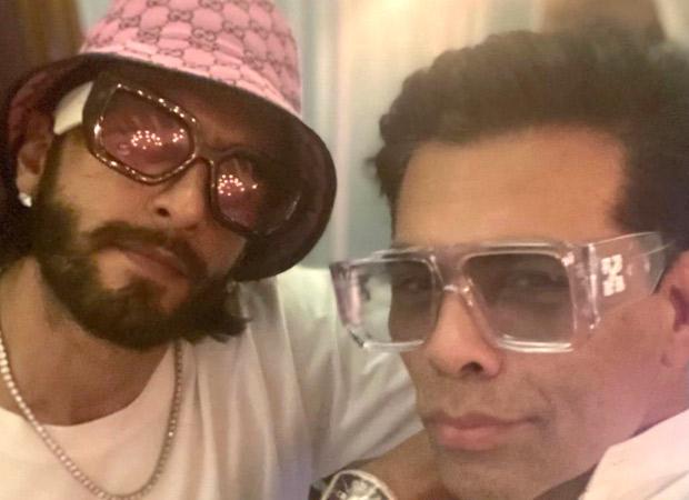 Karan Johar and Ranveer Singh click a selfie, gear up for Rocky Aur Rani Ki Prem Kahani
