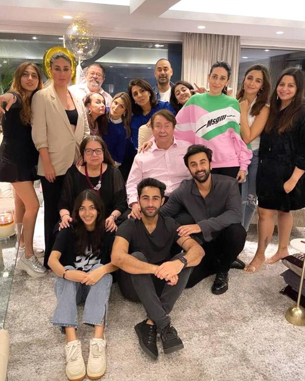 Kareena Kapoor Khan, Alia Bhatt, Ranbir Kapoor, Karisma Kapoor reunite to celebrate Neetu Kapoor's birthday