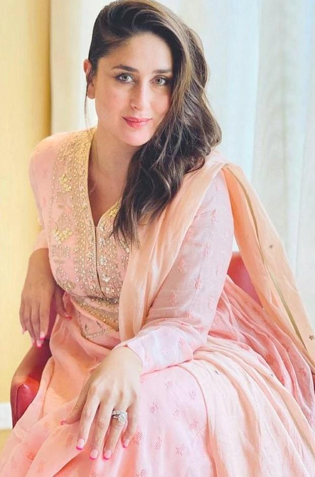 Kareena Kapoor Khan glows in a pink Indian wear worth Rs. 26,900 by Anita Dongre