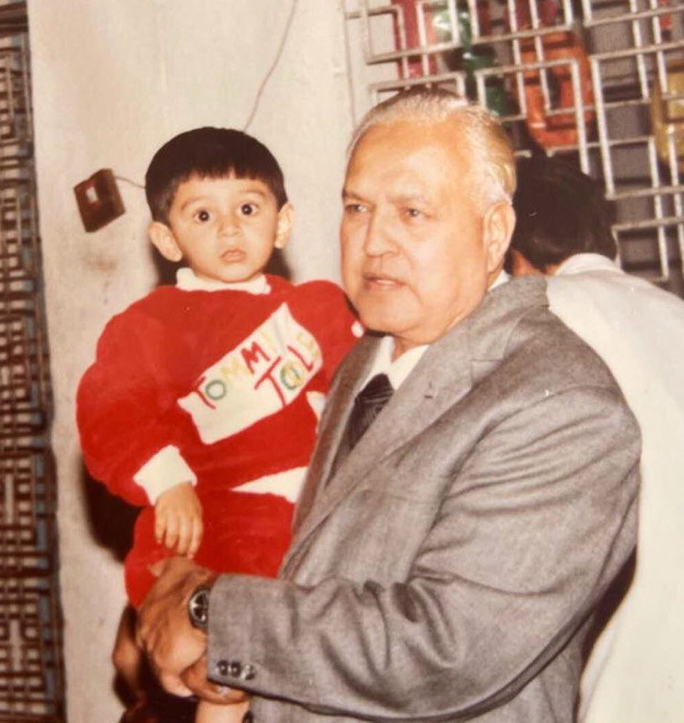 Kartik Aaryan's grandfather passes away; actor says 'I'm hoping to get some of your swag someday'